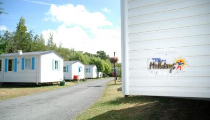 Mobile-homes au camping Le Pas Opton de Spring Harvest